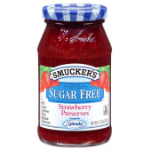 Smuckers Sugar Free Strawberry Jam With Splenda Sweetener