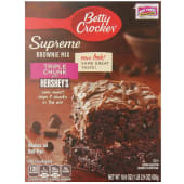 Betty Crocker Triple Chunk Supreme Brownie Mix