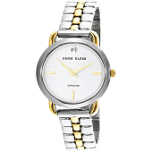 Anne Klein Women's Analog Japanese Quartz Watch AK 2795SVTT