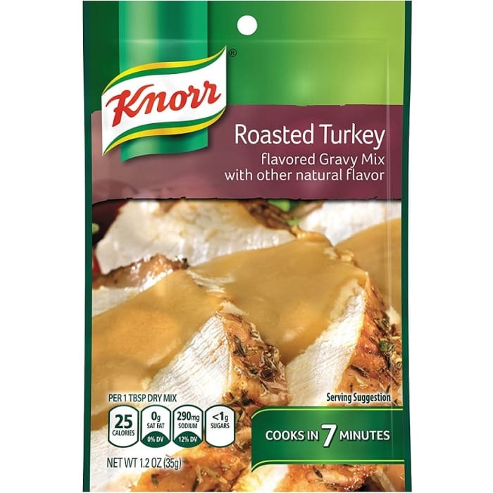 Knorr Gravy Mix Roasted Turkey