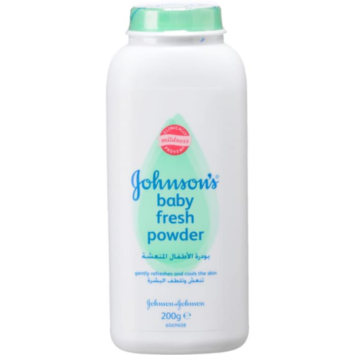 Johnsons Baby fresh powder