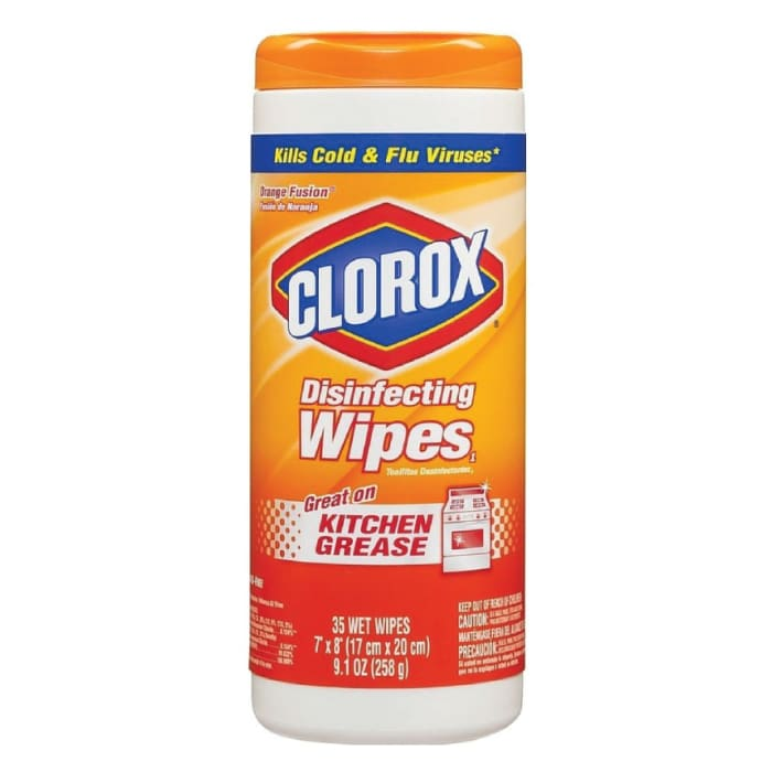 Clorox Disinfecting Wipes Orange Fusion