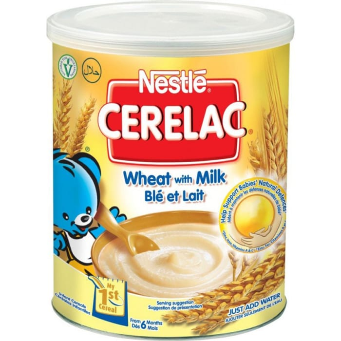 Nestle Cerelac Tin Wheat With Milk