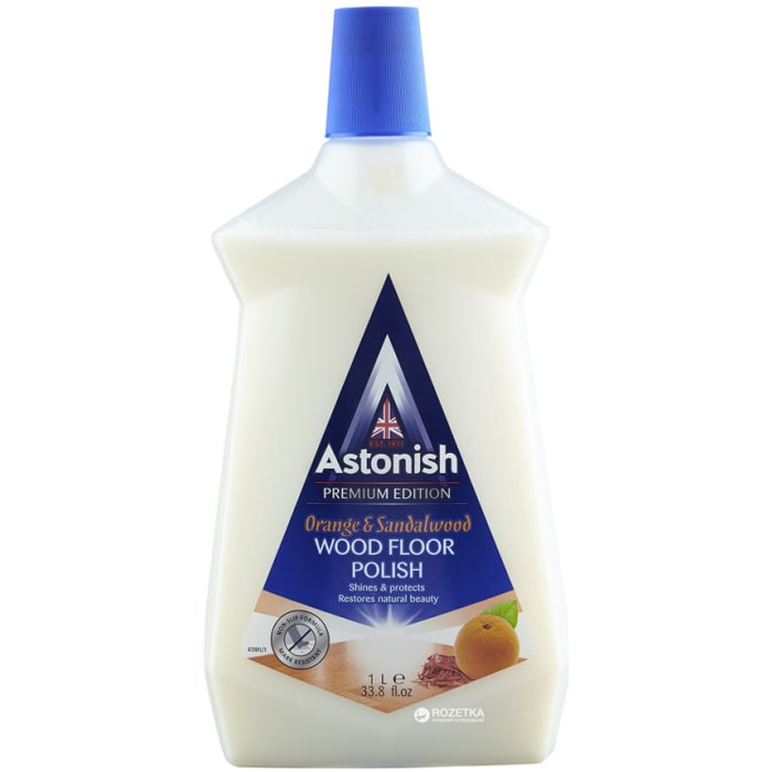 Astonish Premium Edition Orange & Sandalwood Wood Floor Polish 1ltr