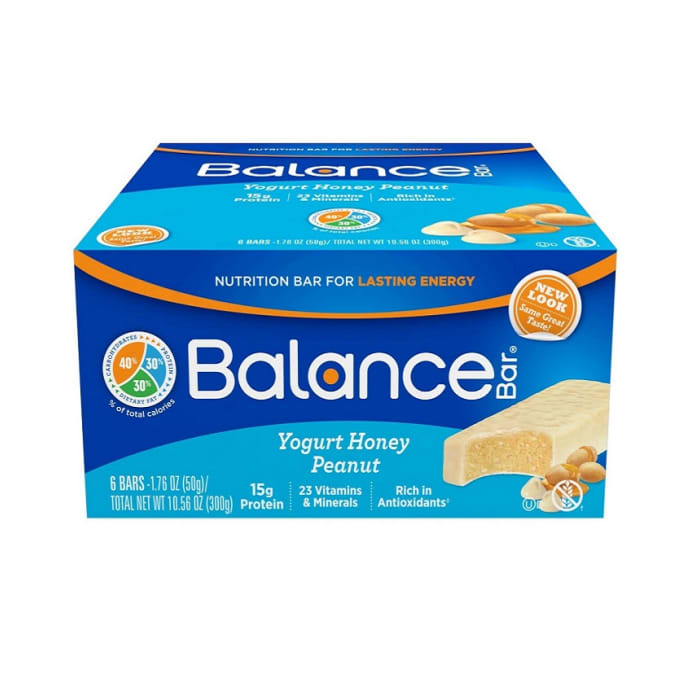 Balance Chocolate Yogurt Honey Peanut Nutrition Energy Bar