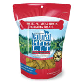 Natural Balance Limited Ingredient Sweet Patato & Bison Dog Treats