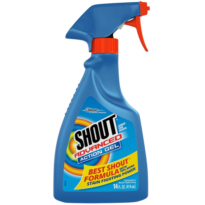 Shout Advanced Action Gel Laundry Stain Remover