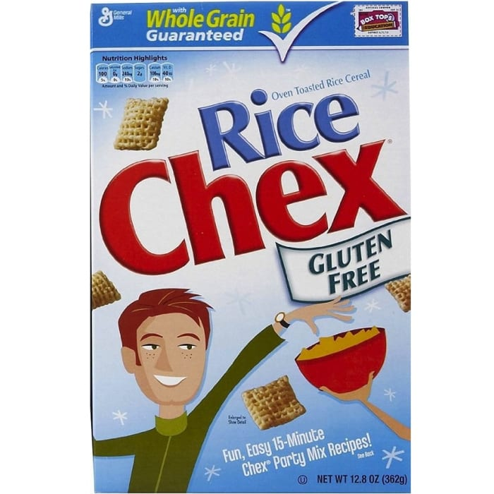 General Mills Gluten Free Chex Cereal Rice