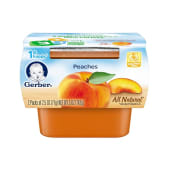 Gerber 1st Foods Baby Foods Peaches