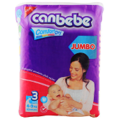 Canbebe Jumbo Midi Diapers Size 3 - 62 Pieces