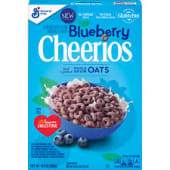 Blueberry Cheerios Cereal, Gluten Free,10.90z
