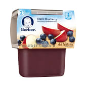 Gerber 2nd Foods Pudding Apple Blueberry