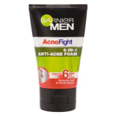Garnier   Men Acno Fight 6in1 Anti Acne Foam