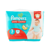 Pampers Baby Diapers Pants No. 3 Midi - 31 Counts