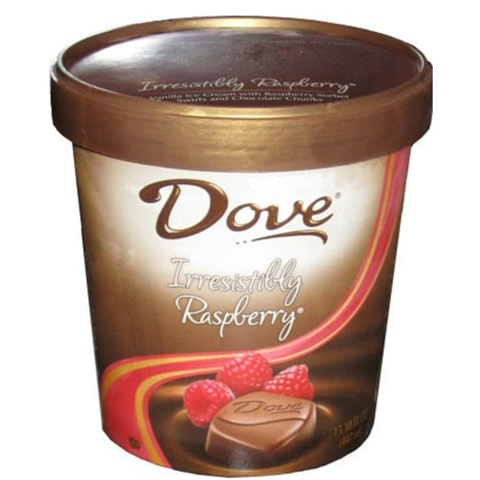 Dove Ice Cream Irresistibly Raspberry