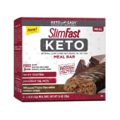 SlimFast Keto Meal Replacement Whipped Triple Chocolate 5 Bars - 210 Grams