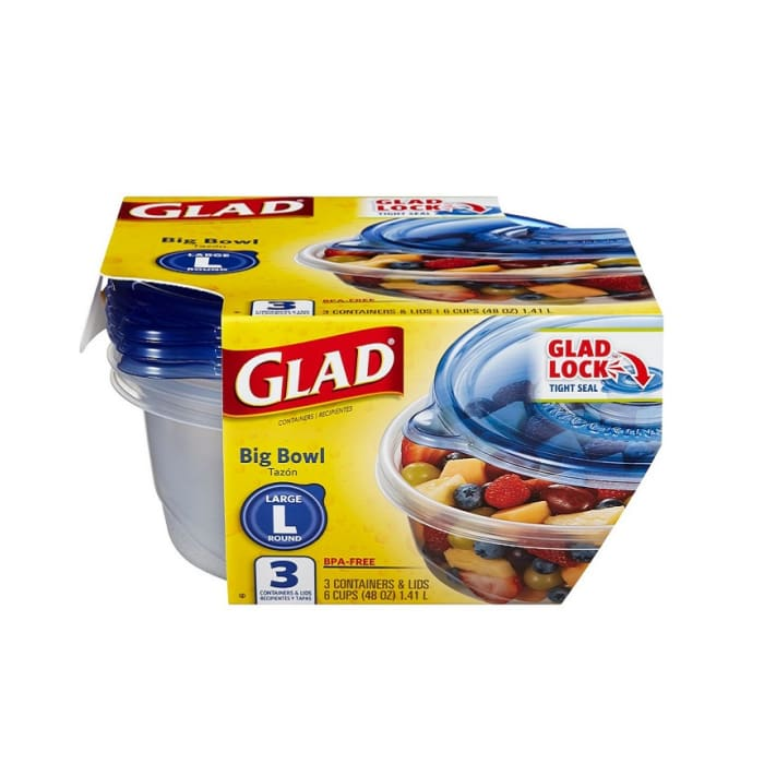 Glad Big Bowl Containers