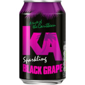Ka Sparkling Black Grape Soda 330ml