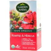 Garden of The Andes Organic Rosehip & HibiScus Tea Bags 50g
