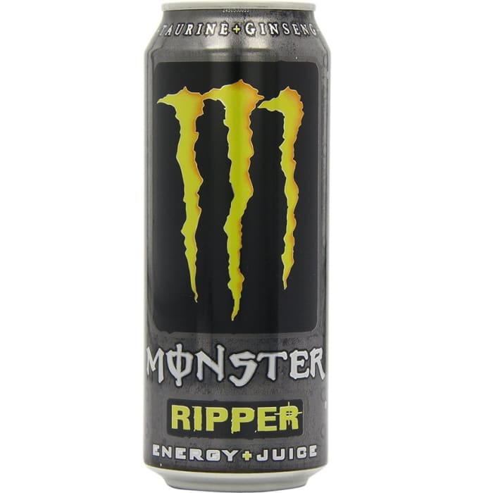 Monster Ripper Energy Plus Juice Can