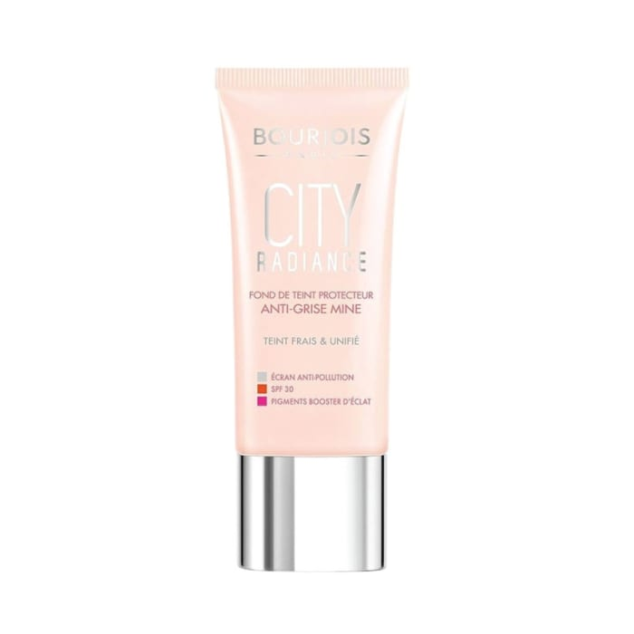 Bourjois City Radiance Skin Protecting Foundation For Women Spf 30 02 Vanilla