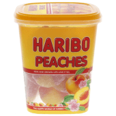 Haribo Jelly Candy Peaches 175g