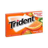 Trident Tropical Sugar Free Gum 14 Count