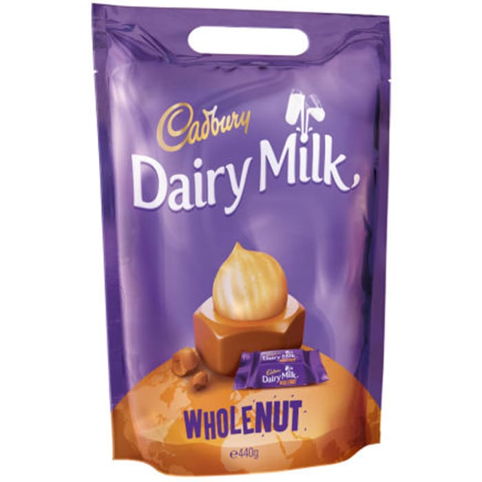 Cadbury Dariry Milk Pouch Whole Nut