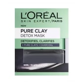 L'Oreal Paris Pure Clay Mask Charcoal 50ml