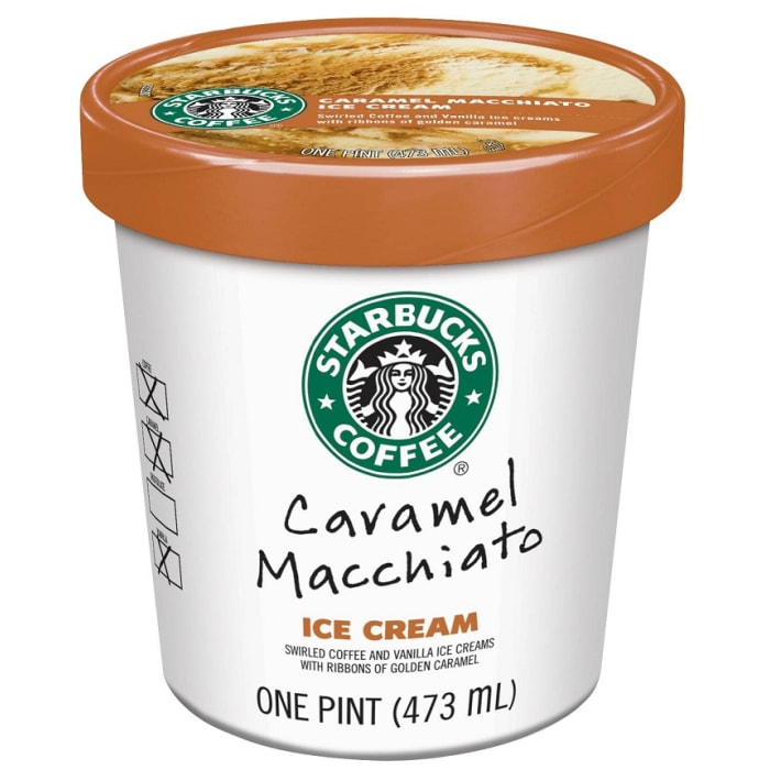 Starbucks Ice Cream Caramel Macchiato