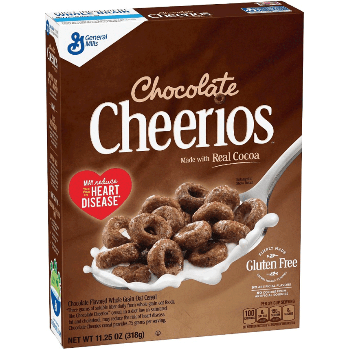 General Mills Cheerios Chocolate Cereal