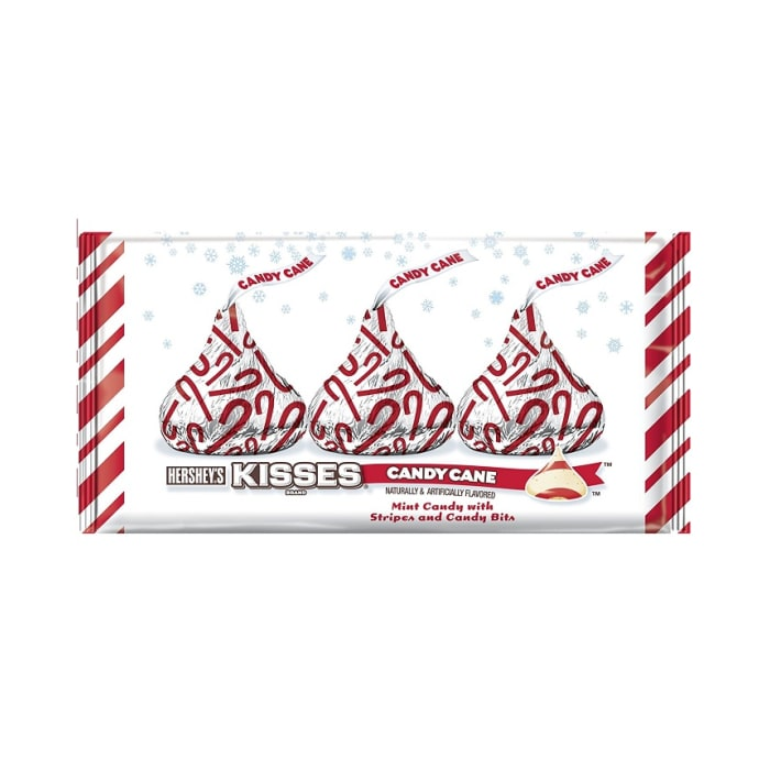 Hershey's Holiday Kisses Candy Cane