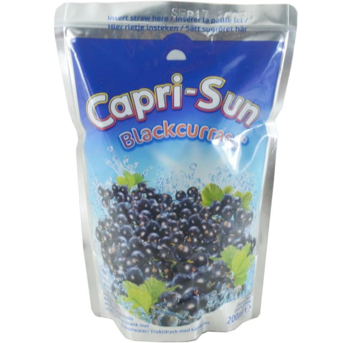 Capri Sun No Added Sugar Blackcurrant Juice