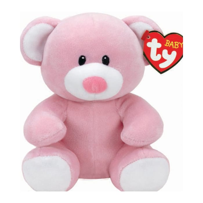 Ty Beanie Babies Princess The Pink Baby Bear