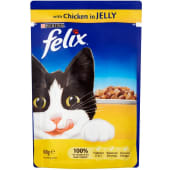 Felix Chicken In Jelly Pouch Cat Food