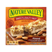 Nature Valley Almond Sweet & Salty Nut Granola 6 Bars 210g