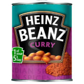 Heinz Vegetables Beanz Curry Tin