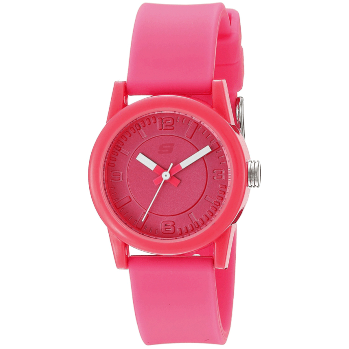 Skechers Womens Analog Display Quartz Watch - Pink