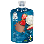Gerber Toddler Food Fruit & Yogurt Very Berry 100g