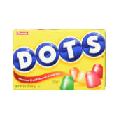Tootsie Dots Fruit Gumdrop Candy 184g