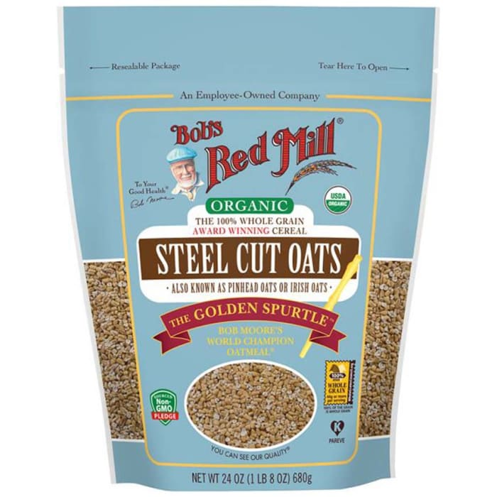 Bob's Red Mill Organic Steel Cut Oats