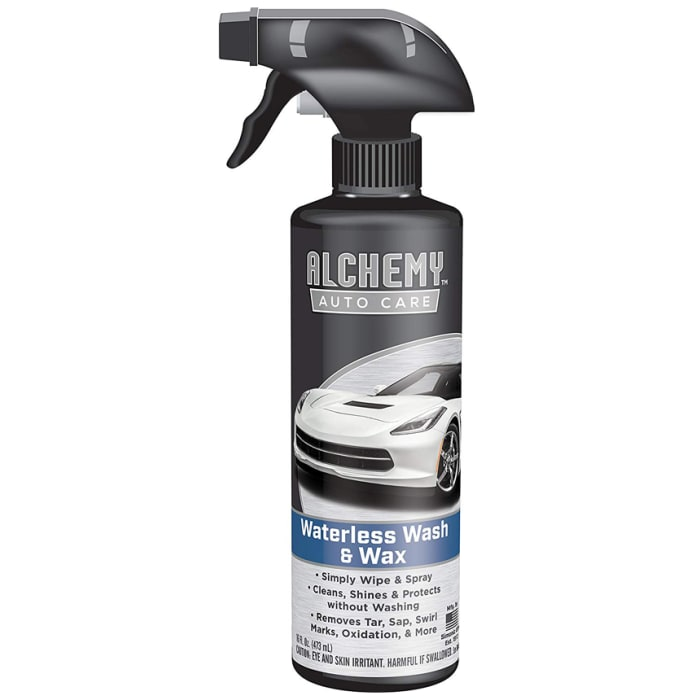 Alchemy Waterless Wash and Wax