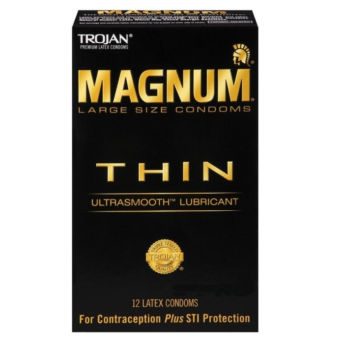 Trojan Condoms Large Magnum Thin