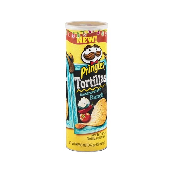 Pringles  Tortillas Southwestern Ranch Chips