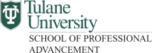 Tulane University School of Professional Studies Logo