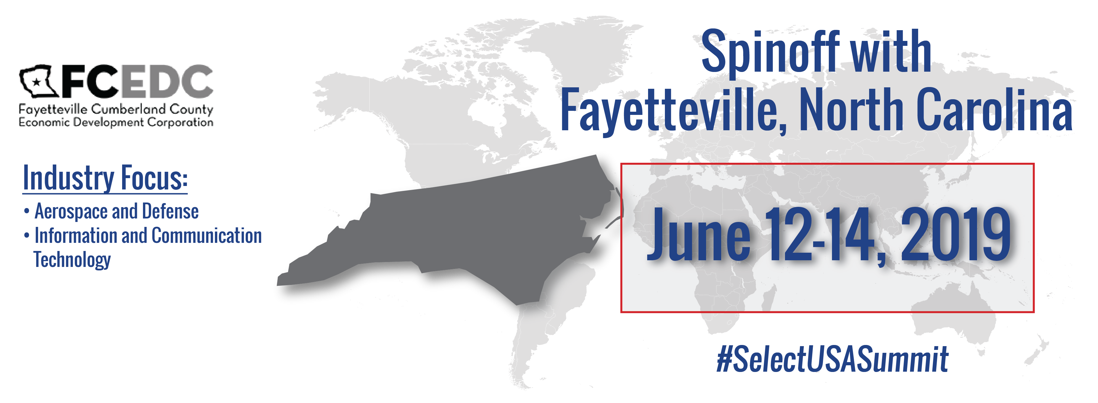 Spinoff Event Graphic - Fayetteville, North Carolina