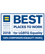 Best Places to Work LGBTQ Badge