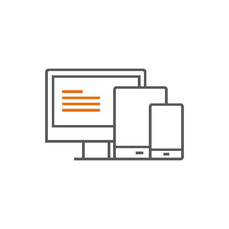 Website Development & Mobile App Icon