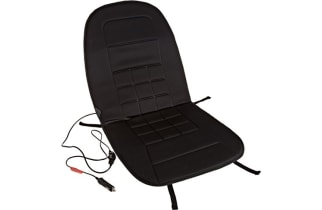 top 10 heated car seat cushions of 2017 video review. Black Bedroom Furniture Sets. Home Design Ideas