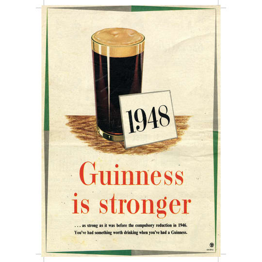 1948 Guinness - A4 (210 x 297mm)